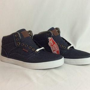 NWT Vans Bedford Blue Unisex Sneakers